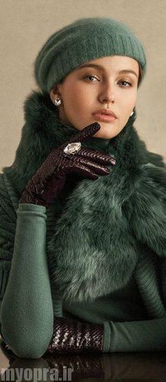 مدل های جدید و زیبای شال گردن بافت