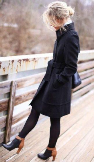 تیپ های دخترانه و زنانه زمستان پالتو بافت