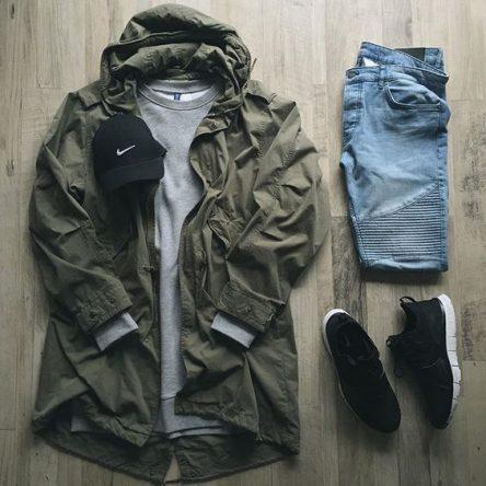 ست لباس مردانه با گاپشن شلوارلی