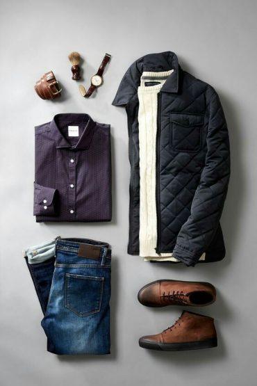 شیک ترین ست لباس مردانه با شلوار لی
