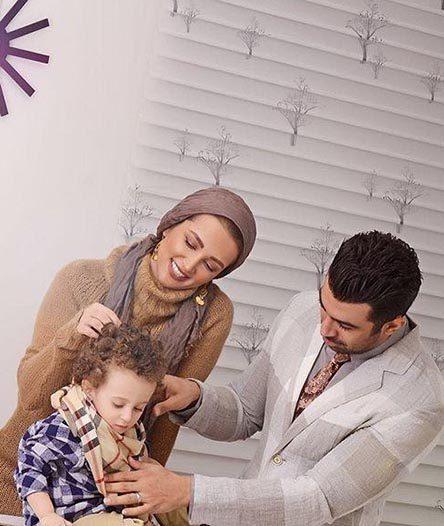 عکس جدید روناک یونسی و همسرش پاییز 95