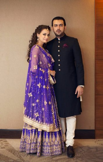 مراسم ازدواج دیا میرزا بازیگر سلام بمبئی