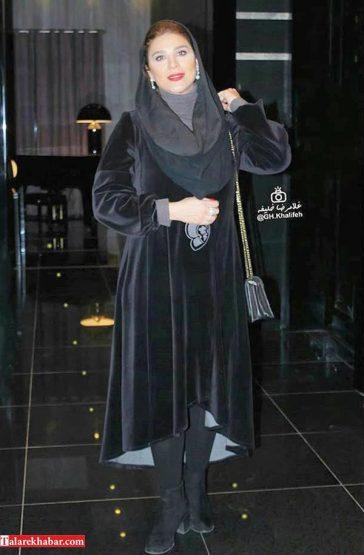 عکس های زیبای سحر دولتشاهی در اکران وارونگی