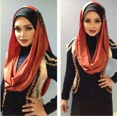 مدل بستن شال و روسری ایرانی جدید ۹۶