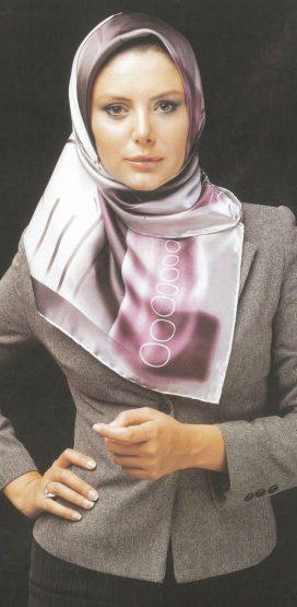 مدل بستن شال و روسری ایرانی جدید 96