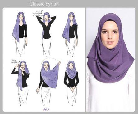 آموزش تصویری بستن حجاب 96