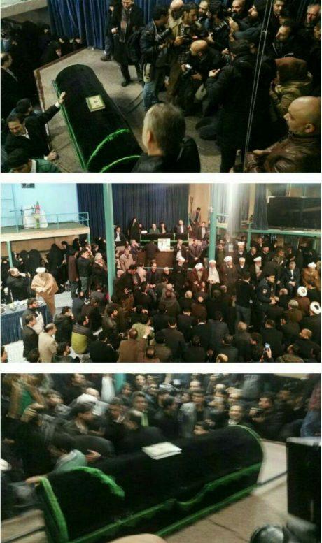 تصاویر تشییع پیکر آیت الله هاشمی رفسنجانی