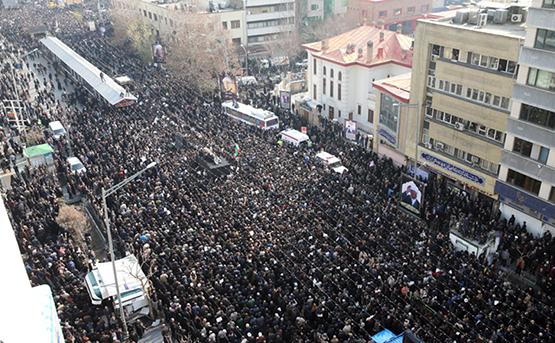 مراسم تشییع پیکر هاشمی رفسنجانی
