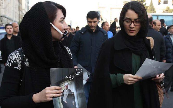 تصاویر وداع با شکوه مردم در تشییع هاشمی رفسنجانی