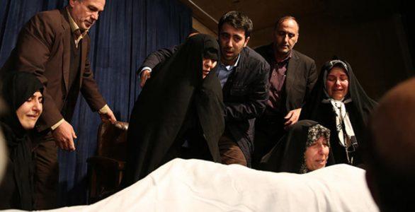 تصاویر  وداع خانواده هاشمی رفسنجانی در جماران