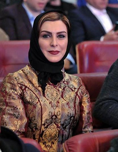تیپماه چهره خلیلی فرش قرمز 35 جشنواره فجر 95