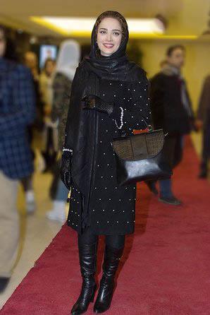 مدل مانتو بهنوش طباطبایی در فرش قرمز جشنواره فیلم فجر 95