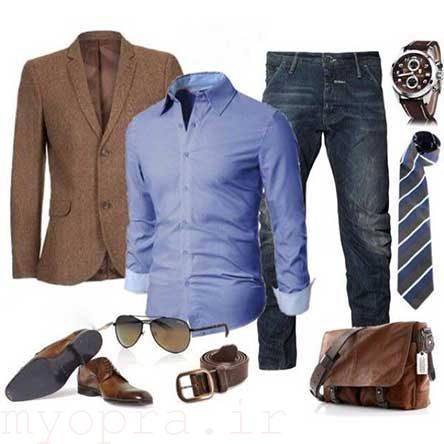ست لباس آقایان داشتن تیپ جذاب با هر استایلی