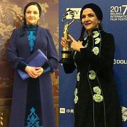 تصاویر بهترین بازیگر نقش اول جشنواره فیلم پکن گلاب آدینه