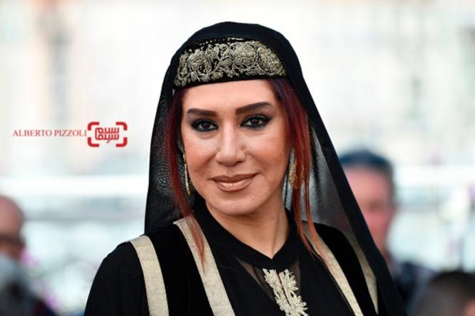 جشنواره فیلم کن تیپ و لباس سودابه بیضایی و نسیم ادبی