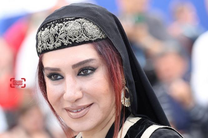 فستیوال فیلم کن تیپ و لباس سودابه بیضایی و نسیم ادبی