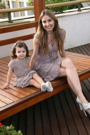 پیراهن بهار و تابستان دختر بچه ست با مامان 2017