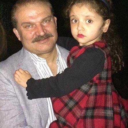 تصویر متفاوت مهدی سلطانی و دخترش در اردیبهشت 96