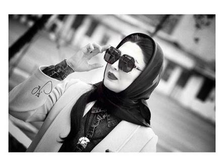 تصویر متفاوت مریم معصومی در اردیبهشت 96