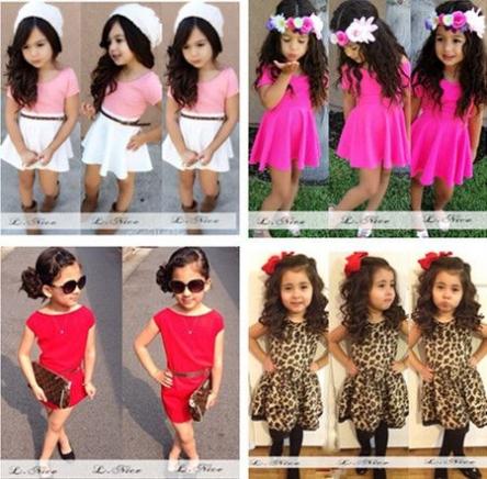 30 مدل لباس دختر بچه در بهار و تابستان 96 جدید
