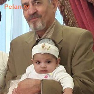 پدر یکتا ناصر با دختر یکتا ناصر در بهار 96
