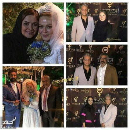 دلیل بهاره رهنما برای انتشار عکس های عروس اش
