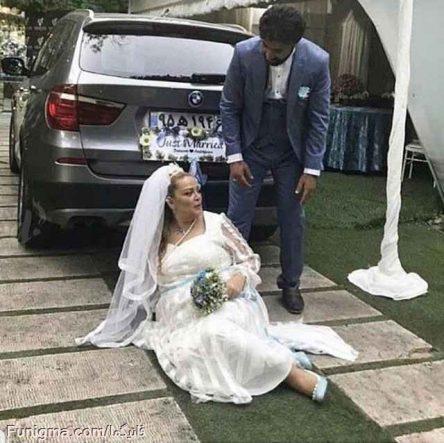 حرکت عجیب بهاره رهنما در شب عروسی