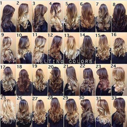 33 تن رنگ موی زیبا از بالیاژ پرطرفدارترین مدل رنگ 2017