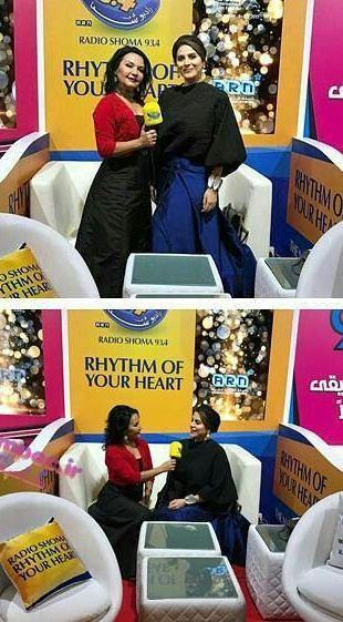 تیپ سحر دولتشاهی در دبی به عنوان داور جشنواه