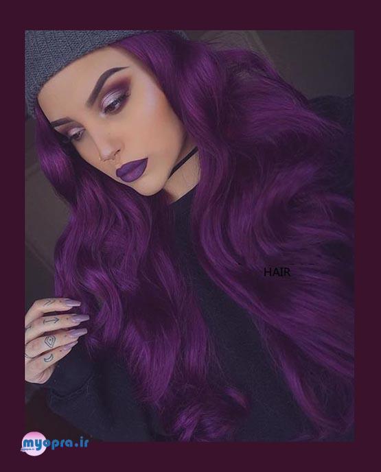 رنگ موهای پرطرف دار سال نو را بشناسید