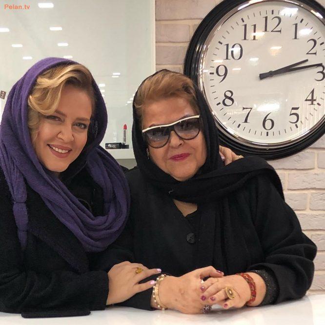 بهاره رهنما و مادرش زمستان 96