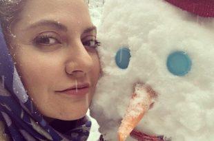 تصاویر زمستانی بازیگران ایرانی در بهمن 96