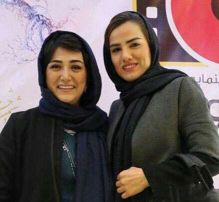 فرشته کریمی و باران کوثری/ سومین روز جشنواره فیلم فجر ۹۶
