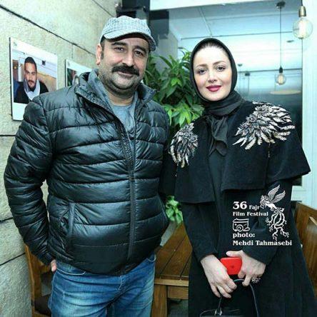 شیلا خداداد و مهران احمدی / سومین روز جشنواره فیلم فجر ۹۶