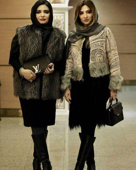 تیپ بازیگران ایرانی در سومین روز جشنواره فیلم فجر