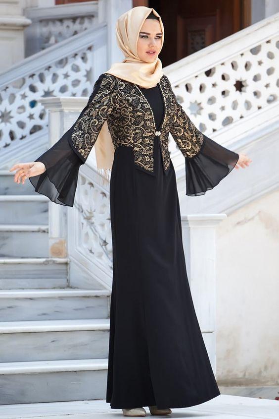 مدل لباس شیک و مجلسی بلند بیرون از خانه