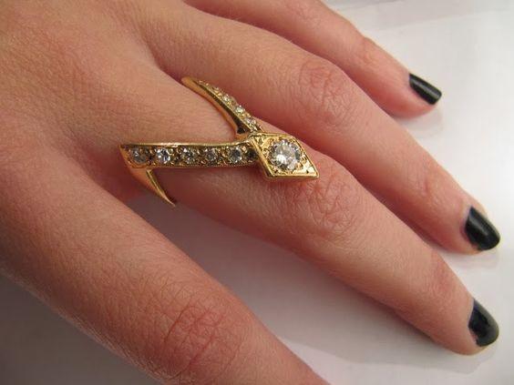 مدل انگشتر طلا زنانه و دخترانه 2018