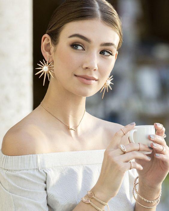 زیباترین و شیک ترین مدل گوشواره دخترانه و زنانه 2018