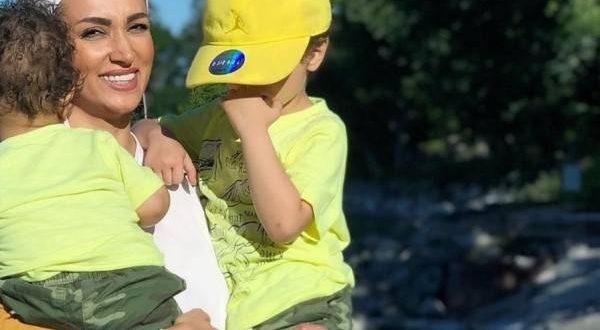 عکس های روناک یونسی و پسرانش در کاناداعکس های روناک یونسی و پسرانش در کانادا
