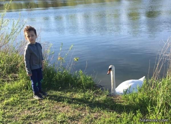 عکس های روناک یونسی و پسرانش در کانادا