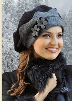 کلاه زنانه پاییز و زمستان 97 جدید